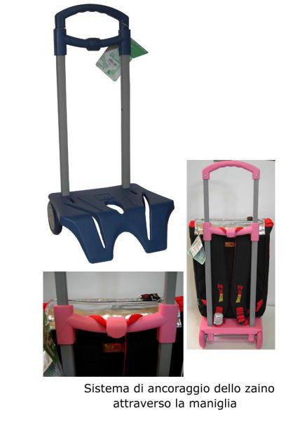 negozio online d60c3 6b1e9 CARRELLO TROLLEY PORTA ZAINO MAX 15 KG Punto Ufficio Corato ...